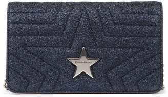 Stella McCartney Star Quilted Fabric Crossbody Bag