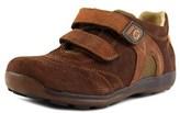 Naturino Sadie Round Toe Suede Sneakers.