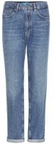 MiH Jeans Linda Vintage Boyfriend High-rise Cropped Jeans