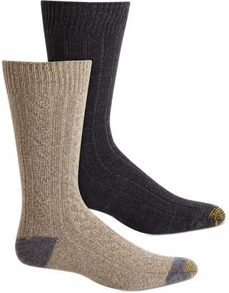 Gold Toe Men 2-Pk. Cable-Knit Socks