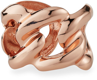 Kenneth Jay Lane Rose Golden Link Cuff Bracelet
