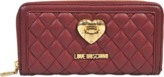 Love Moschino Heart Quilted zipped wallet