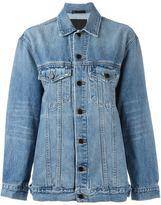 Alexander Wang oversized denim jacket - women - Cotton/Polyester - XS