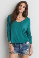 American Eagle Outfitters AE Soft & Sexy Drop Shoulder T-Shirt