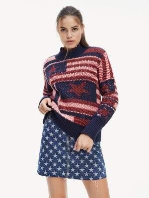 Tommy Hilfiger Chunky Knit Americana Star Jumper