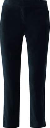A.L.C. Harrison Cropped Cotton-blend Velvet Slim-leg Pants