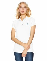 U.S Juniors Solid Pique Polo Shirt Polo Assn