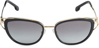 Versace 53MM Metal Butterfly Sunglasses