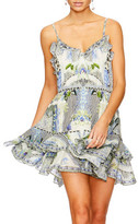 Camilla The Sweet Escape Mini Button Down Frill Dress