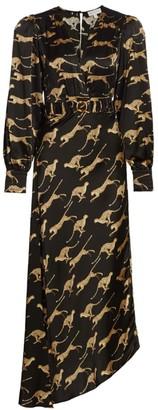 Ronny Kobo Estelle Leopard Dress