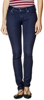 GUESS Women's Sienna Curvy Skinny Jeans in Rinse Wash