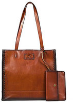 Patricia Nash Burned Veg Tan Collection Toscano Tote