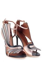 Malone Souliers Rosie Metallic-leather Sandal