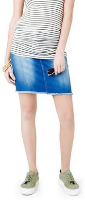 Ripe Isla Distressed Mini Skirt