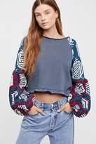 Free People Gone Global Sweatshirt