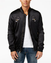 Sean John Men's Satin Souvenir Bomber Jacket, Only at Macy's