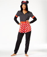Briefly Stated Minnie Mouse Hooded Jumpsuit