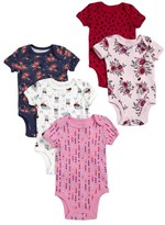 Infant Girl's Rosie Pope 5-Pack Bodysuits