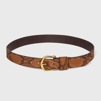 Universal Thread Women' uede nake Horehoe Belt - Univeral ThreadTM Deert