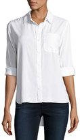 Velvet Heart Elisa Button-Up Blouse, Optic White