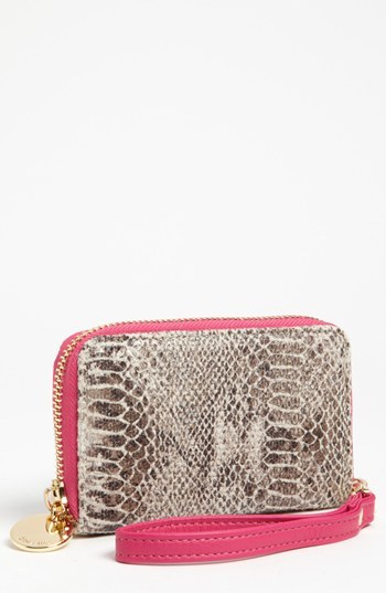 Deux Lux 'Georgie' Phone Wallet Chambray One Size