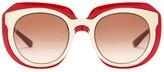 Dolce & Gabbana Women's DNA Oversized Propionate Frame Sunglasses
