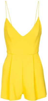 Alex Perry Exclusive to Mytheresa Kane crepe playsuit