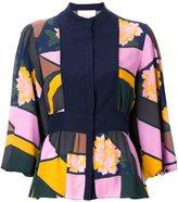 Roksanda contrast panel shirt - women - Silk - 8