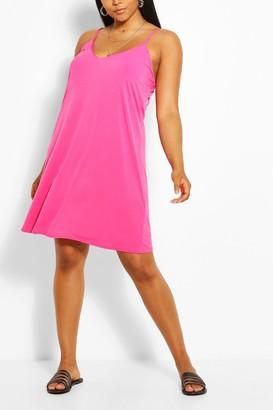 boohoo Plus Cami Mini Dress