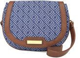 Liz Claiborne Sarah Saddle Crossbody Bag