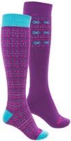 Bridgedale Merino Wool Ski Socks - 2-Pack, Over the Calf (For Women)