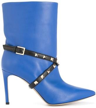 Valentino Studwrap boots