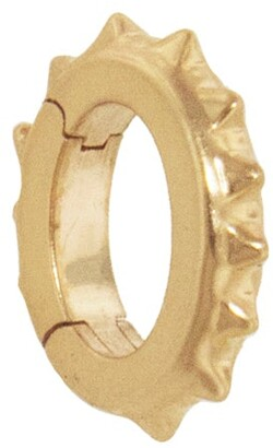 Foundrae Yellow Gold Small Oval Pyramid Annex Link