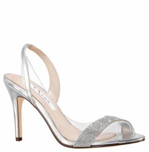 Nina Cailida High Heel Slingback Sandal Women's Shoes