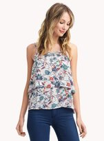 Ella Moss Dolce Flora Tiered Tank