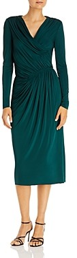 Jason Wu Ruched Midi Dress