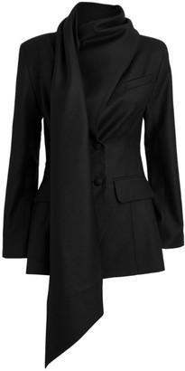 MATÉRIEL Scarf Blazer Jacket