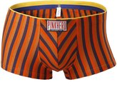 Pink Hero Men's Boxer Briefs, Striped Trunk, Modal
