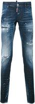 Dsquared2 - distressed Glam Head jeans - men - Cotton - 46
