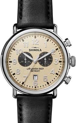Shinola The Runwell Chronograph, 47mm