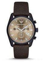 Emporio Armani Men's AR6078 Sportivo Analog Display Analog Quartz Brown Watch