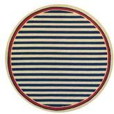 Couristan Nautical Stripe Indoor/outdoor Rug