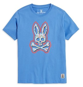 Psycho Bunny Boys' Logo Tee, Little Kid, Big Kid - 100% Exclusive