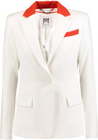 Milly Two-tone cady blazer