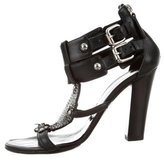 Guiseppe Zanotti x Balmain Embellished Leather Sandals