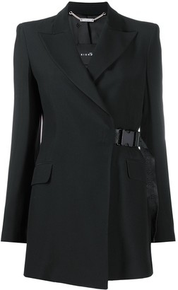 John Richmond Long Buckle-Fastening Blazer