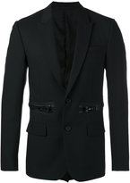 Givenchy oversized zip detail blazer