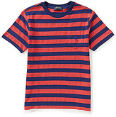 Ralph Lauren Little Boys 2T-7 Wide-Stripe Knit Tee