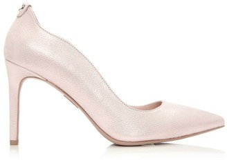 Moda In Pelle Cerina Pink Metallic Leather