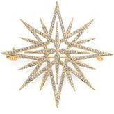 Adriana Orsini Holiday Pave Crystal Star Brooch